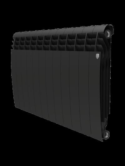 Биметаллический радиатор Royal Thermo BiLiner 500 Noir Sable (12 секций)
