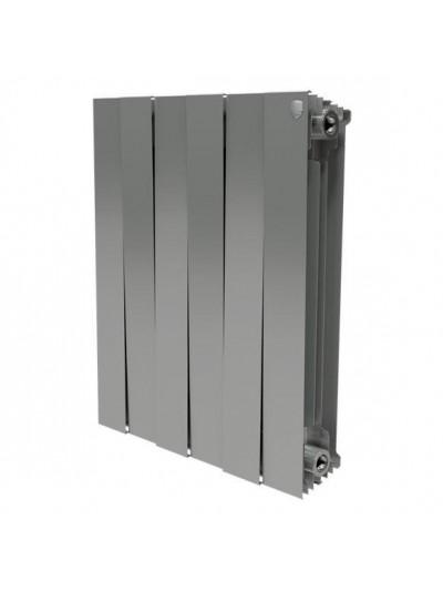 Биметаллический радиатор Royal Thermo PianoForte 500 Silver Satin (12 секций)